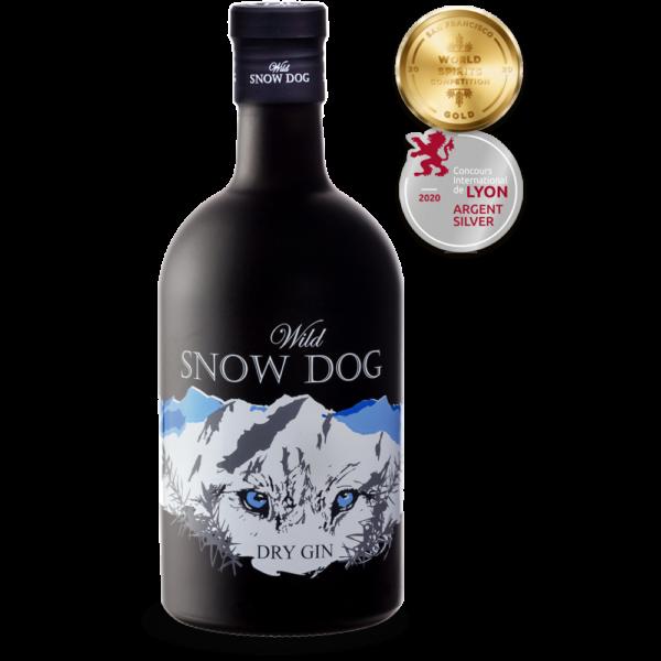 snow dog gin premiado